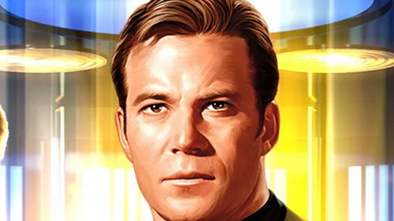 Captain Kirk Beaming Down