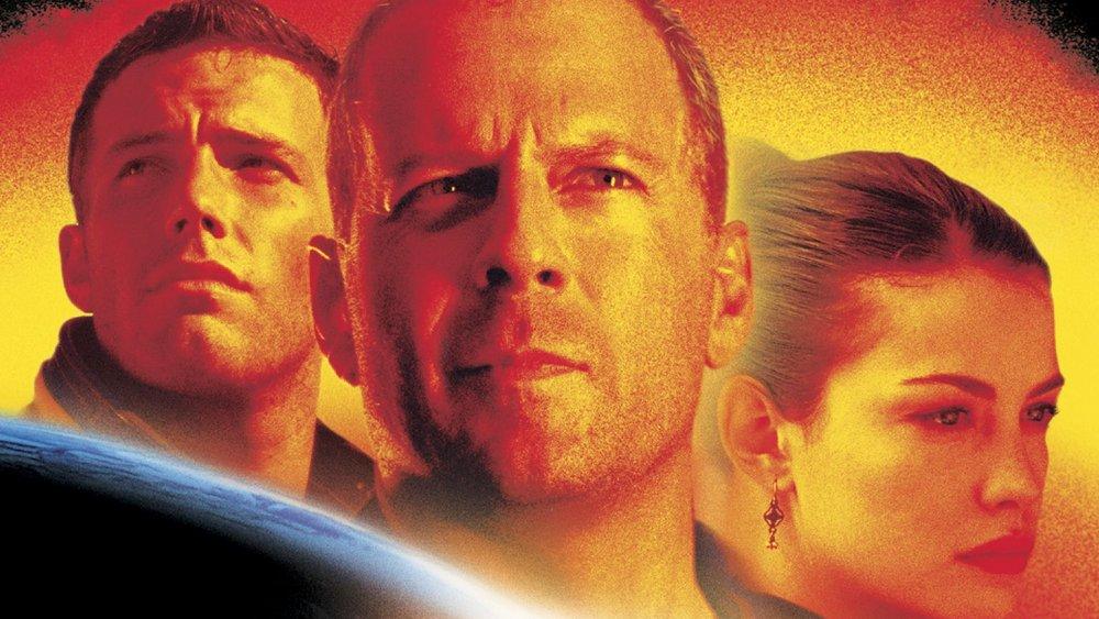 Ben Affleck, Bruce Willis, Liv Tyler in Armageddon