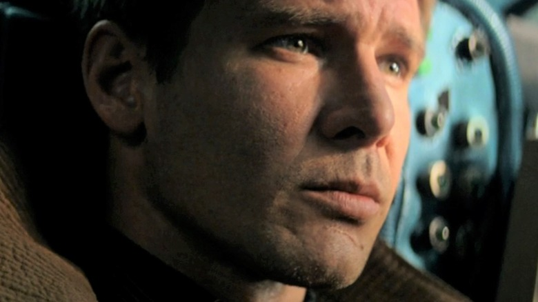 Rick Deckard gazes