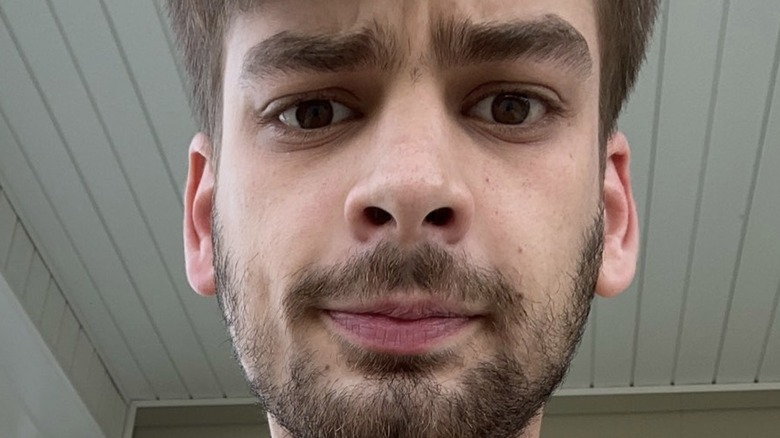 Chandler Hallow selfie from Twitter