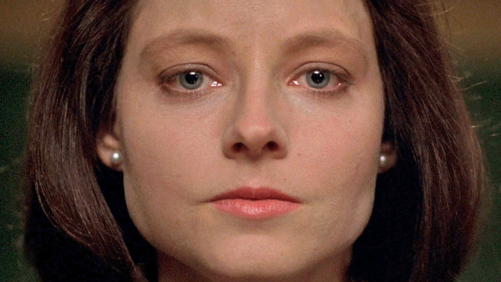 Clarice Starling staring ahead