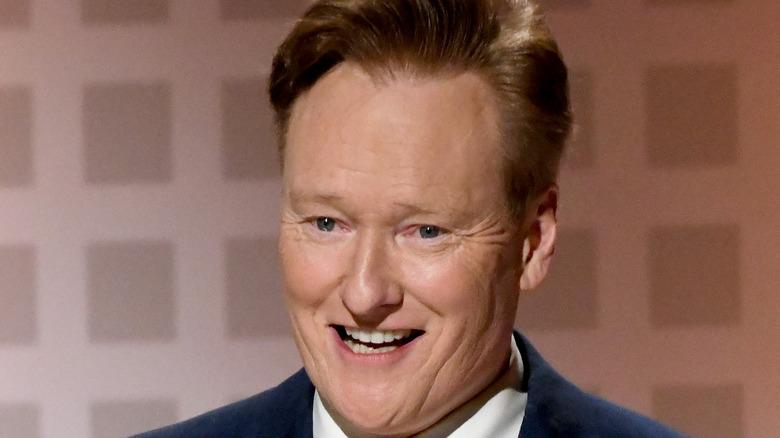 Conan O'Brien smiling