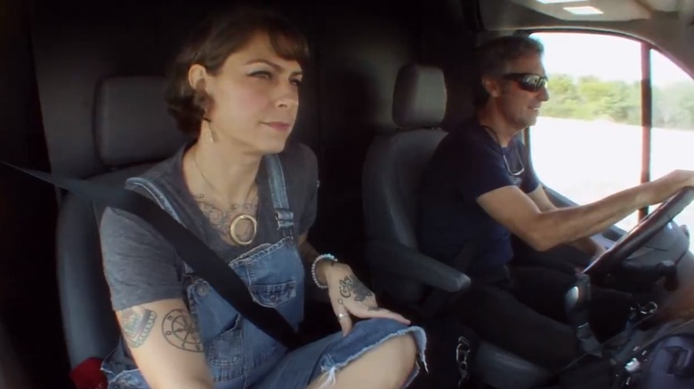 Danielle Colby in American Pickers