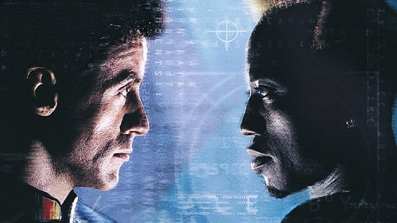 Sylvester Stallone and Wesley Snipes in Demolition Man