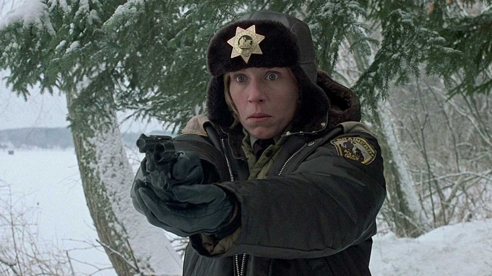 Frances McDormand as Marge Gunderson in Fargo