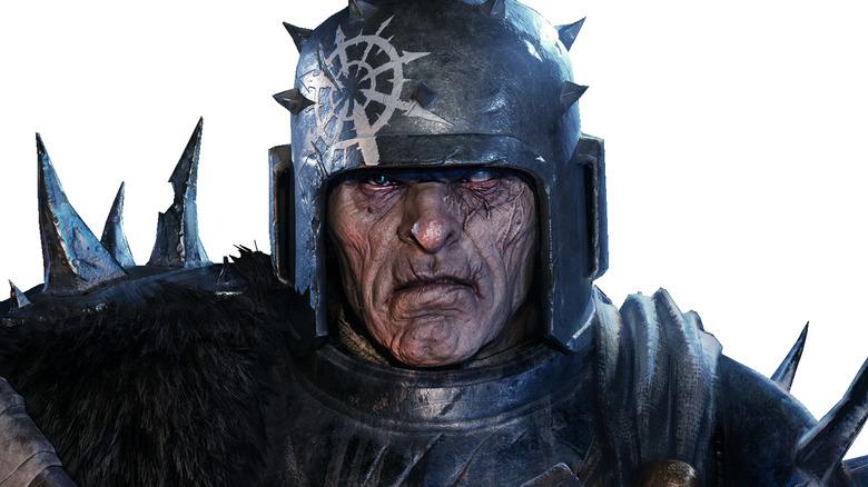 Veteran Warrior frowning