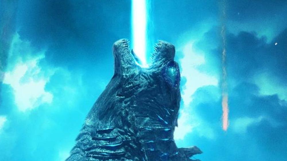 Godzilla is angry