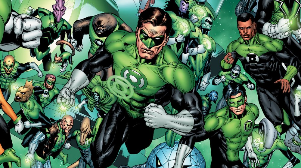 The Green Lantern Corps, from DC Comics