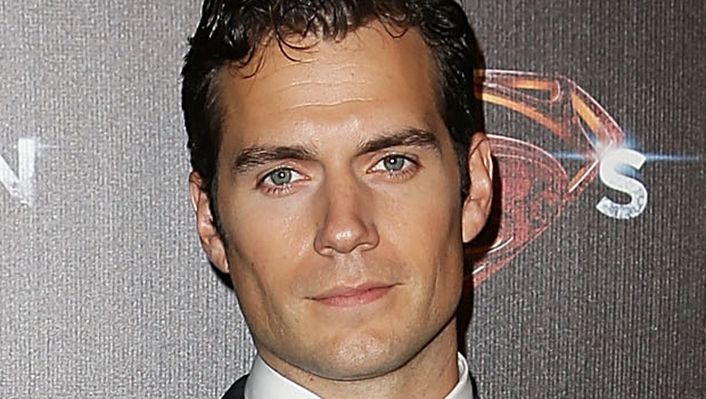 Henry Cavill at premiere