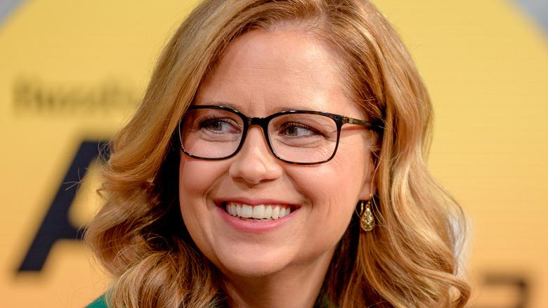 Jenna Fischer smiles