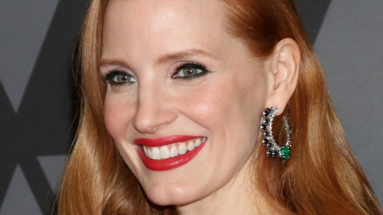 Jessica Chastain smiling