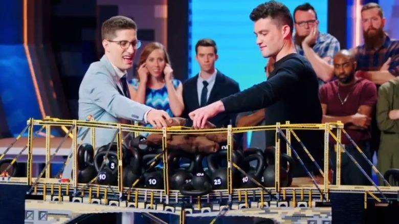 Christian and Aaron bridge weights