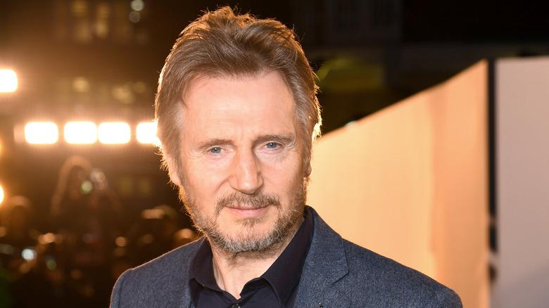 Liam Neeson red carpet photo