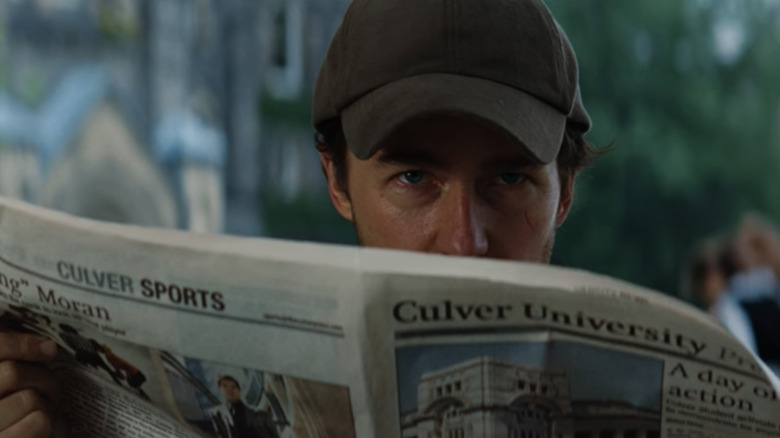 """Bruce Banner looks up at Culver University in """"The Incredible Hulk."""""""