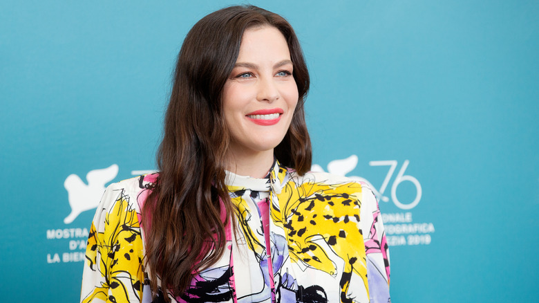 """VENICE, ITALY - AUGUST 29: Liv Tyler attends """"Ad Astra"""" photo-call during the 76th Venice Film Festival on August 29, 2019 in Venice, Italy."""
