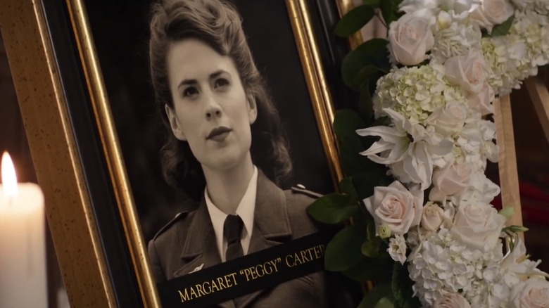 It's evident from Captain America: Civil War, Peggy, who was always destined to change the world, peacefully passed away at the age of 95.