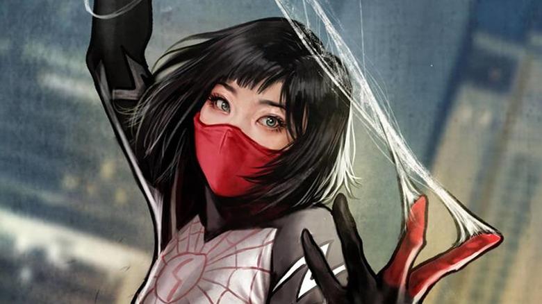 Cindy Moon AKA Silk, from Marvel Comics