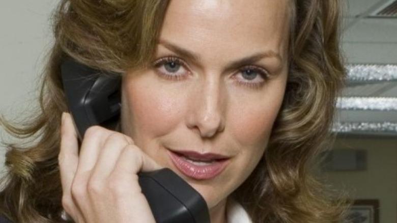 Jan talks on the phone