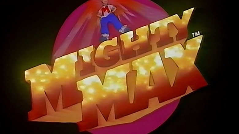 Mighty Max title card