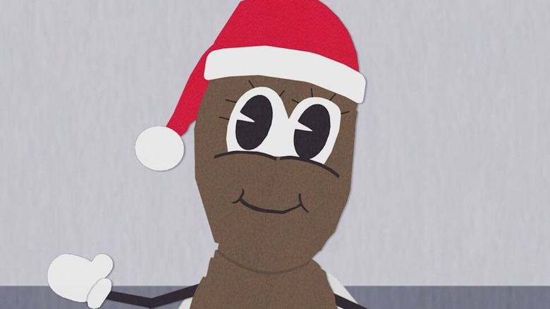 Mr. Hankey, the Christmas Poo, from South Park