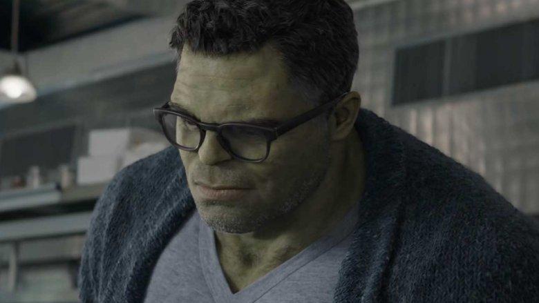 The Professor Hulk in Avengers: Endgame