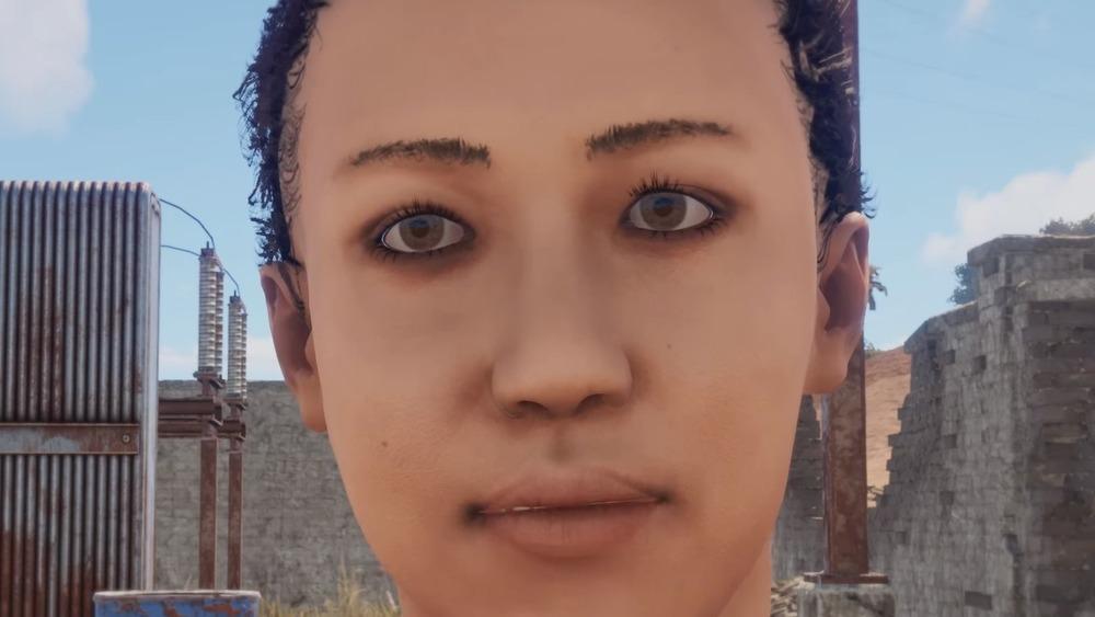 Rust female character