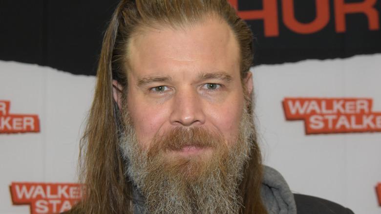 Ryan Hurst sporting long beard