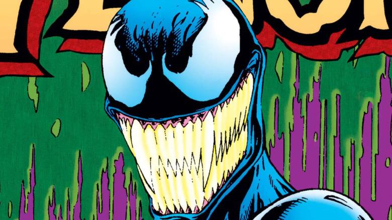 She-Venom bearing her fangs