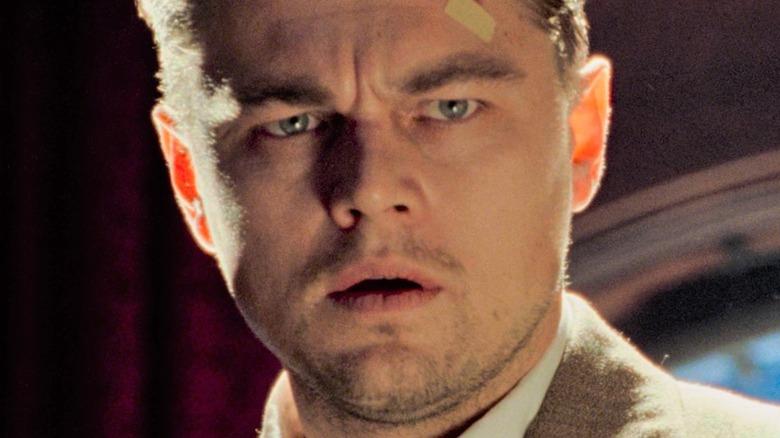 Leo DiCaprio looks shocked