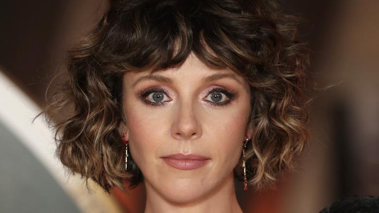 Sophia Di Martino curly hair