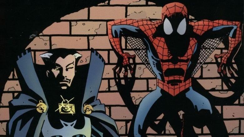 Spider-Man and Doctor Strange team up
