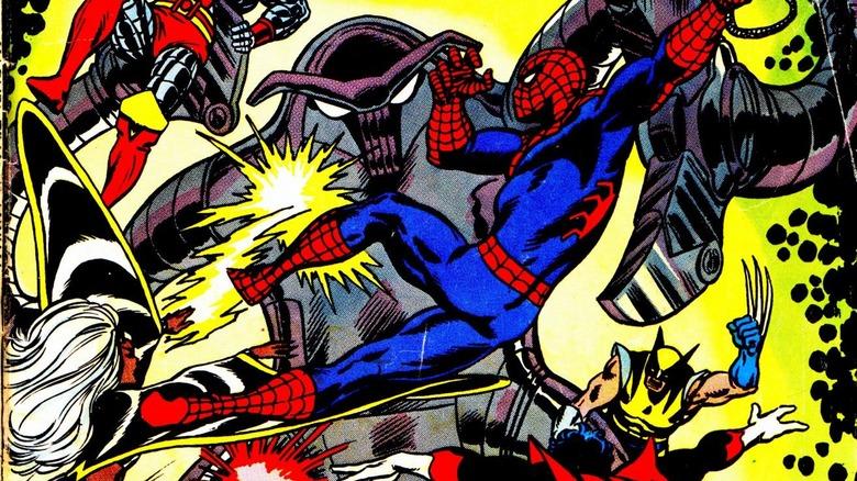 X-Men Spider-Man