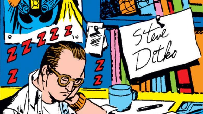 Steve Ditko Marvel Comics