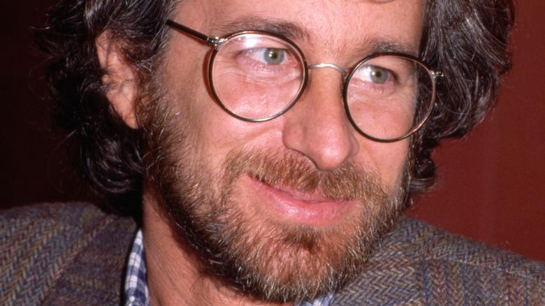 Steven Spielberg smiling