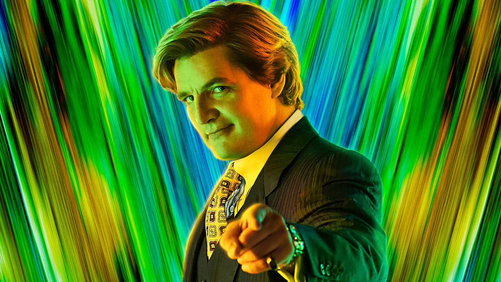 Pedro Pascal as Maxwell Lord