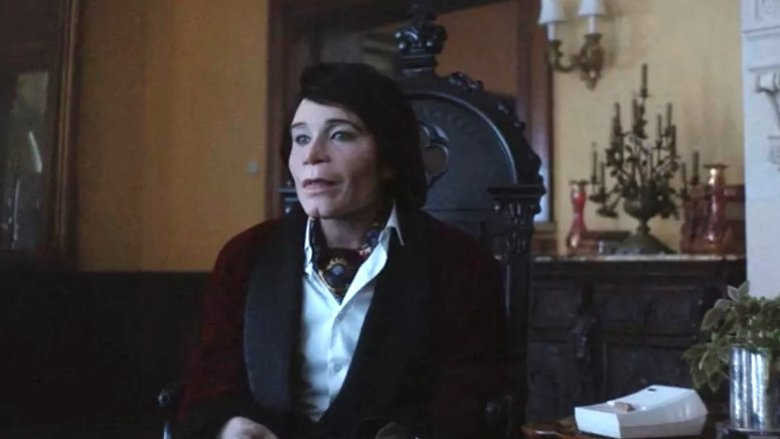 Teddy Perkins at the table