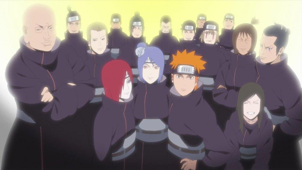 The Akatsuki in Naruto