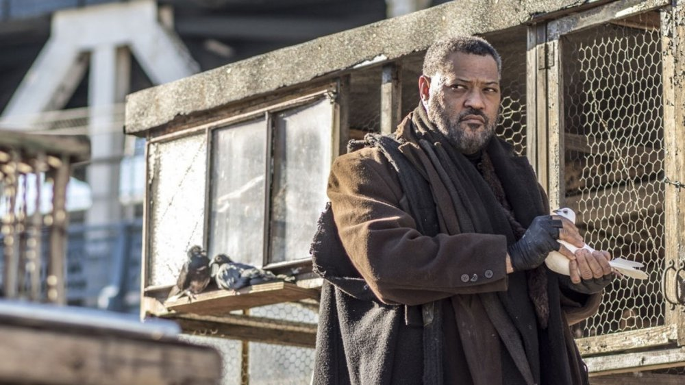 Laurence Fishburne as The Bowery King in John Wick: Chapter 2
