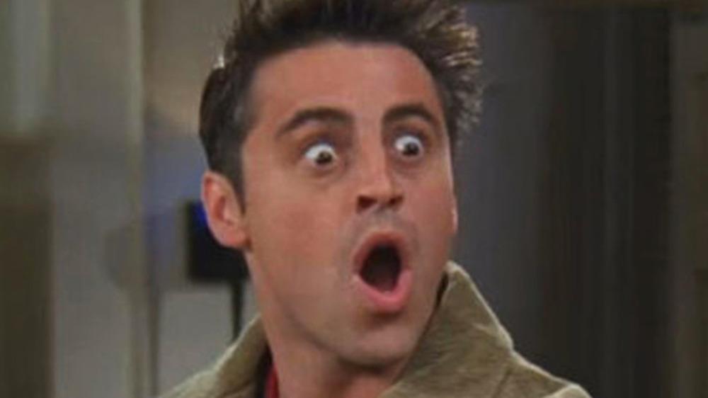 Joey surprised face Friends