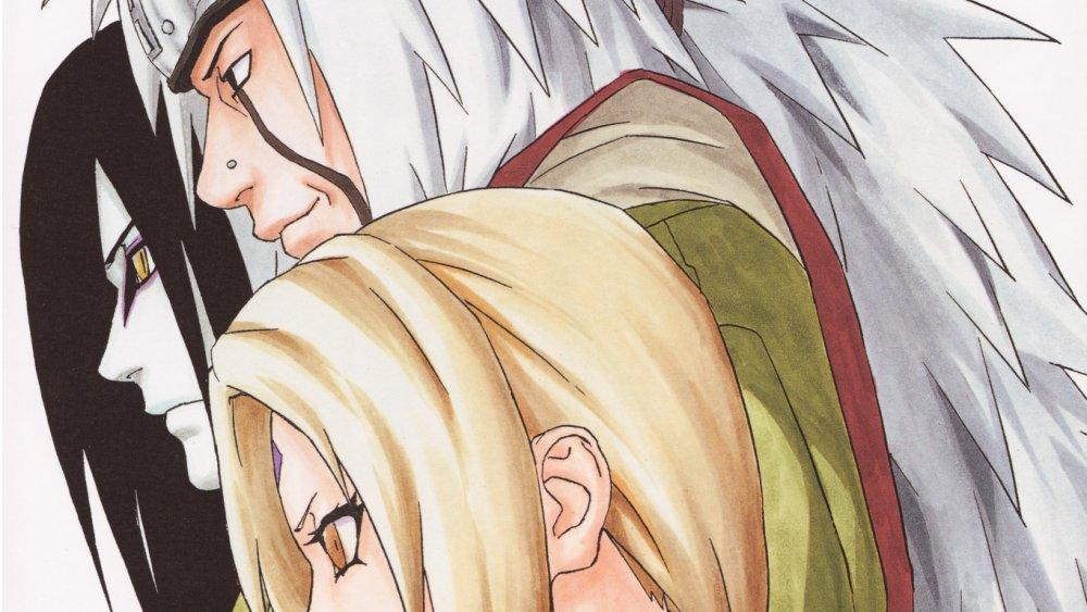 The Three Legendary Sannin from Naruto