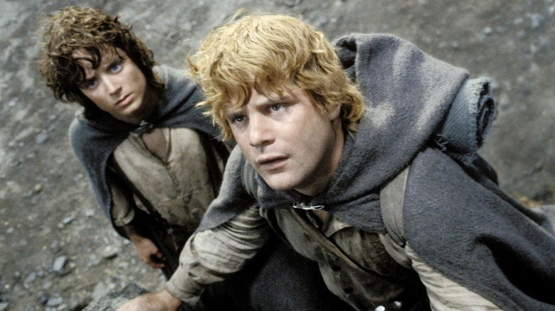 Frodo and Samwise in the Emyn Muil