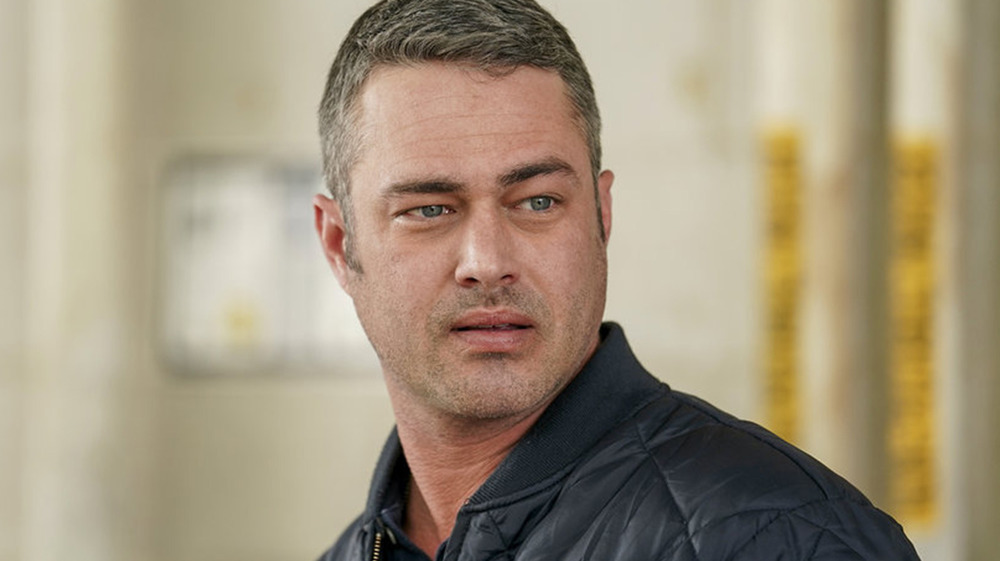 Taylor Kinney on Chicago Fire