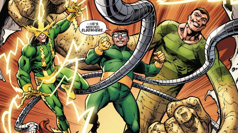 Sinister Six in Sinister War vol. 11