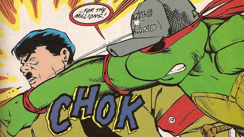Future Raphael punches Adolf Hitler