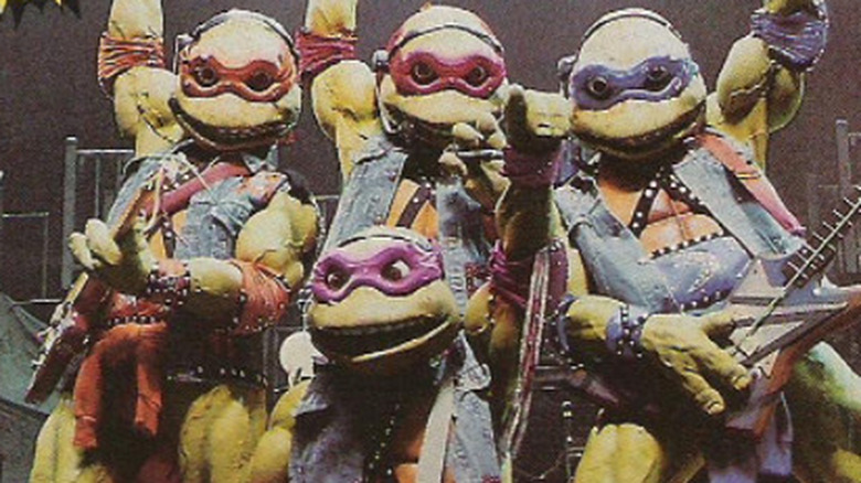 TMNT Coming Out of Their Shells