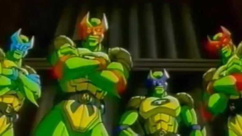 Mutant Turtles Superman Legend transformed TMNT