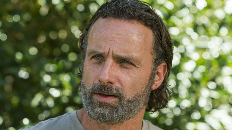 Andrew Lincoln with gray beard