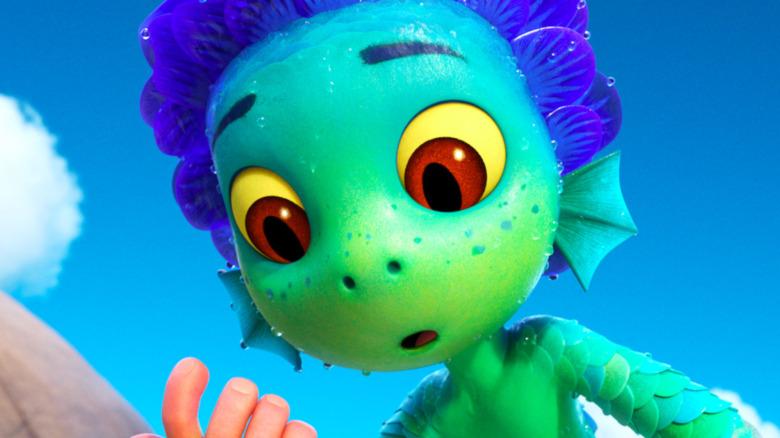 Disney Pixar's Luca the sea monster