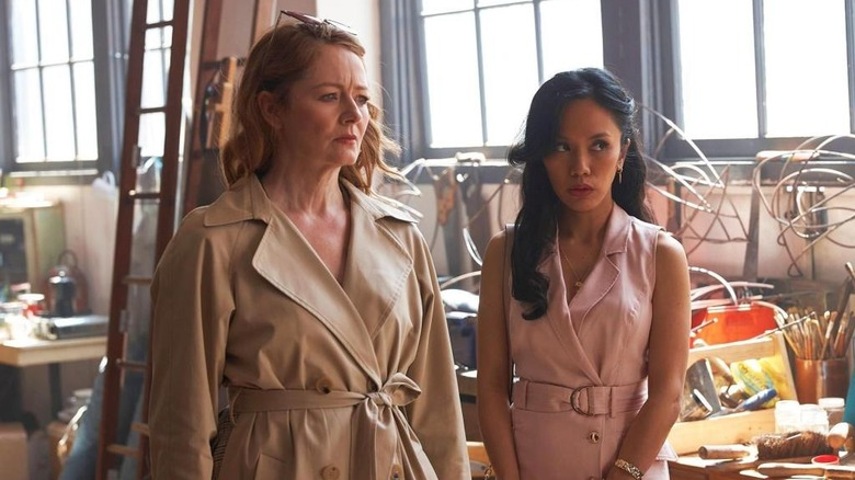 Sara and Evie together in The Unusual Suspects