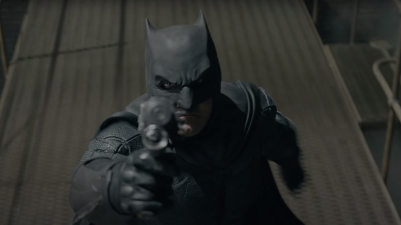 Ben Affleck as Batman in Justice League